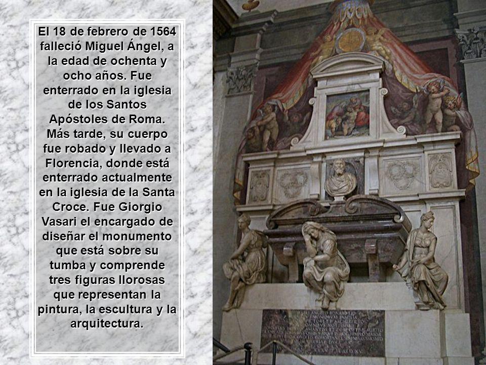 Piedad Rondanini Piedad de Palestrina
