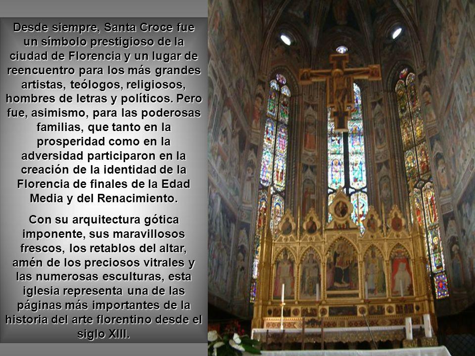 Basílica de la Santa Croce, Florencia