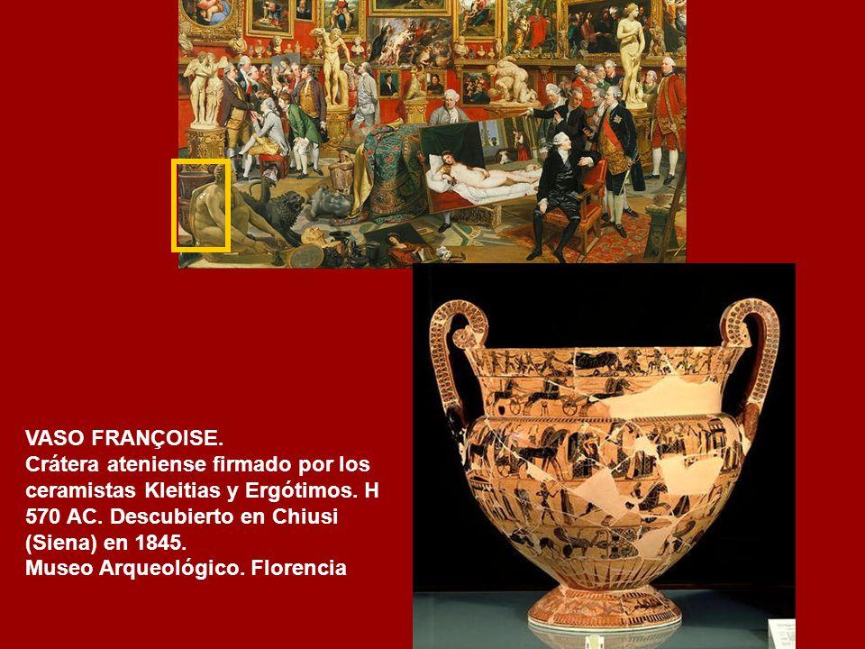 FAUNO DANZANTE. Mármol. Copia del original helénico del s.III a.C. Tribuna de Buontalenti. Galería Uffizi. Florencia