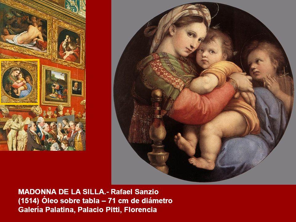 LA CARIDAD.- Guido Reni (1620) Óleo sobre lienzo – 116 cm x 90,5 cm. Galería Palatina. Palazzo Pitti. Florencia