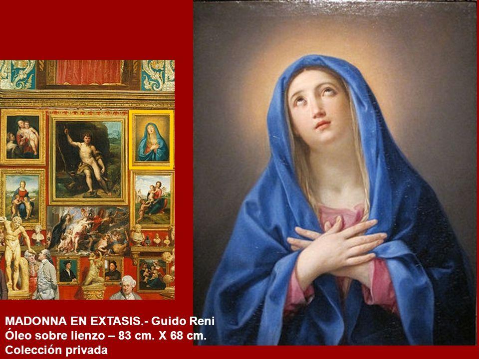 LA VIRGEN, EL NIÑO Y SAN JUANITO.- Francesco di Cristofano Bigi (Franciabigio) (h. 1510?) Óleo sobre tabla – 106 cm. x 81 cm. Galería de los Uffizi. F