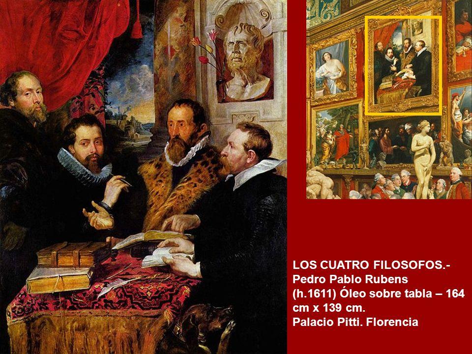 CLEOPATRA.- Guido Reni (1630) Óleo sobre tabla -125,5 cm x 97 cm. Galería Palatina. Palazzo Pitti. Florencia