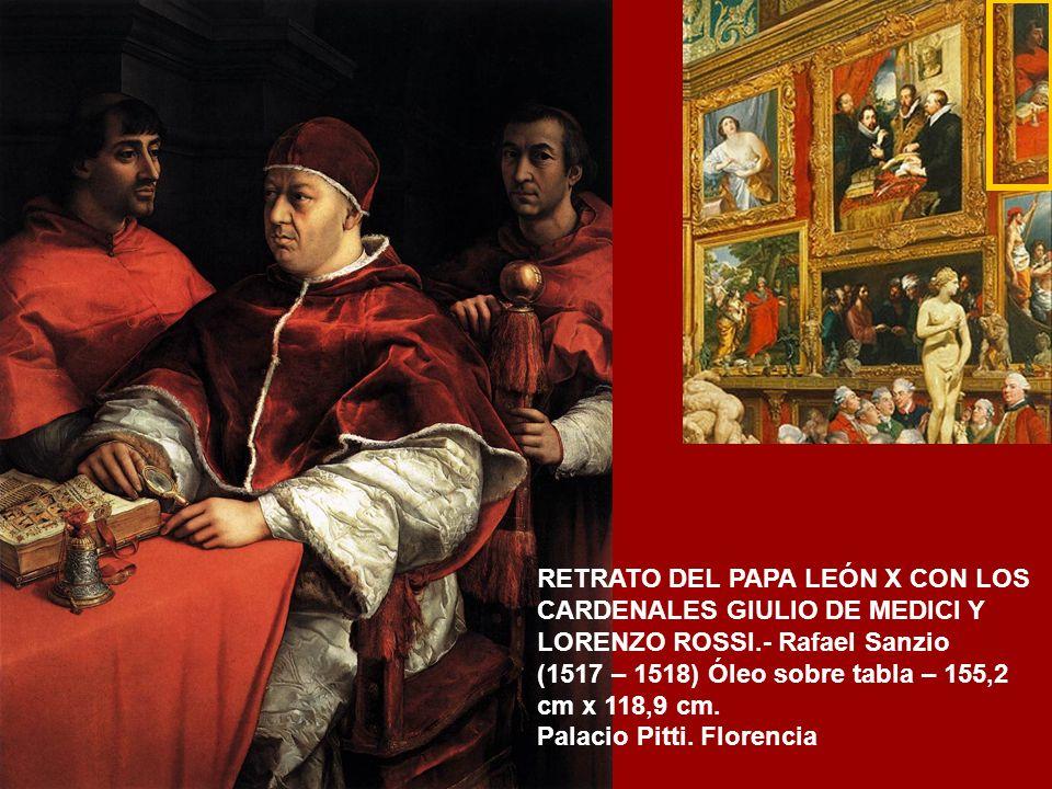LOS CUATRO FILOSOFOS.- Pedro Pablo Rubens (h.1611) Óleo sobre tabla – 164 cm x 139 cm. Palacio Pitti. Florencia