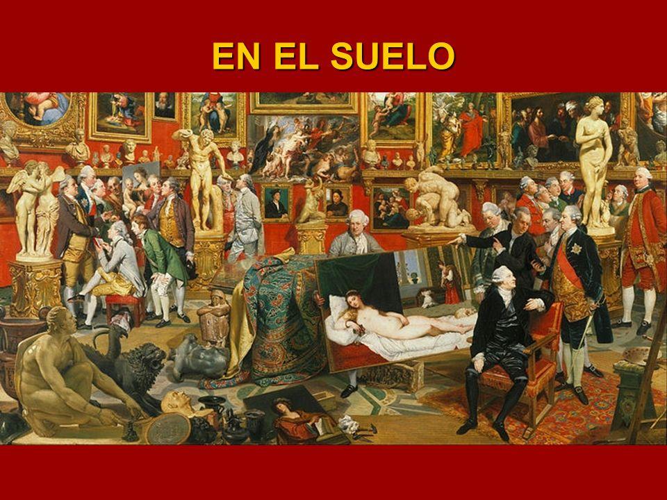 LA VIRGEN CON EL NIÑO Y SANTA CATALINA.- Escuela de Tiziano Óleo sobre lienzo – 73 cm. X 60 cm