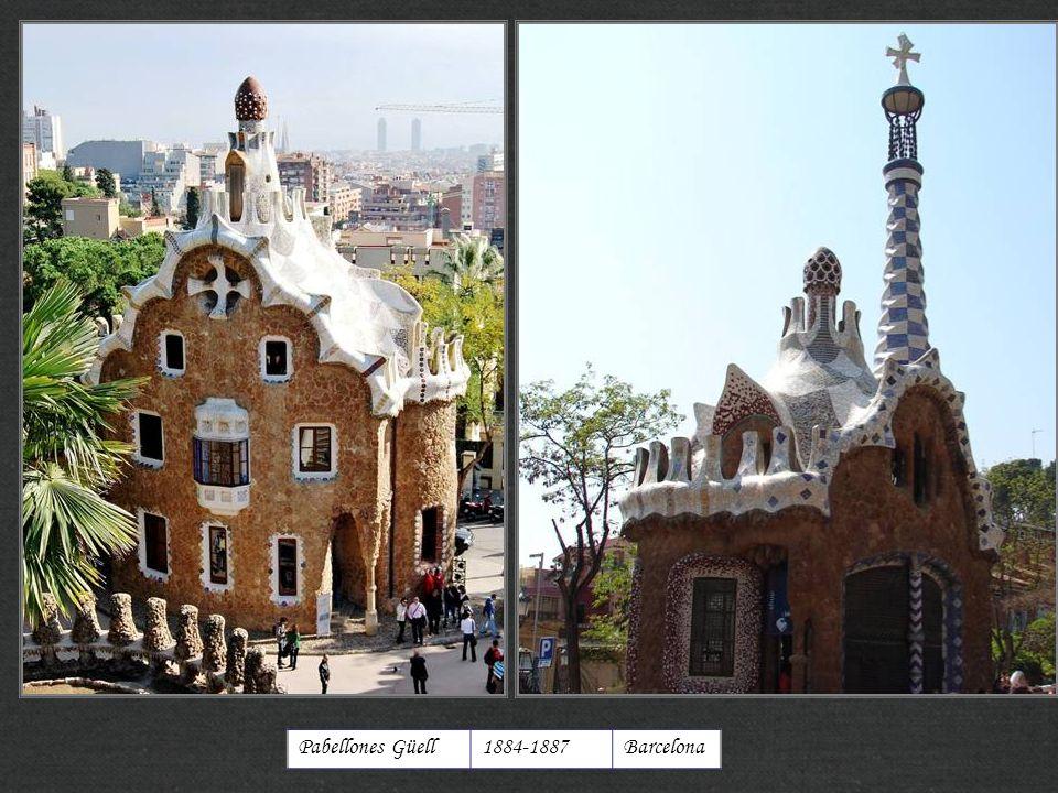 Pabellones Güell1884-1887Barcelona