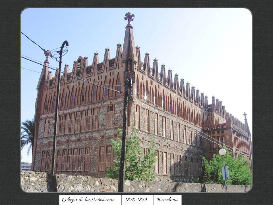 Colegio de las Teresianas1888-1889Barcelona