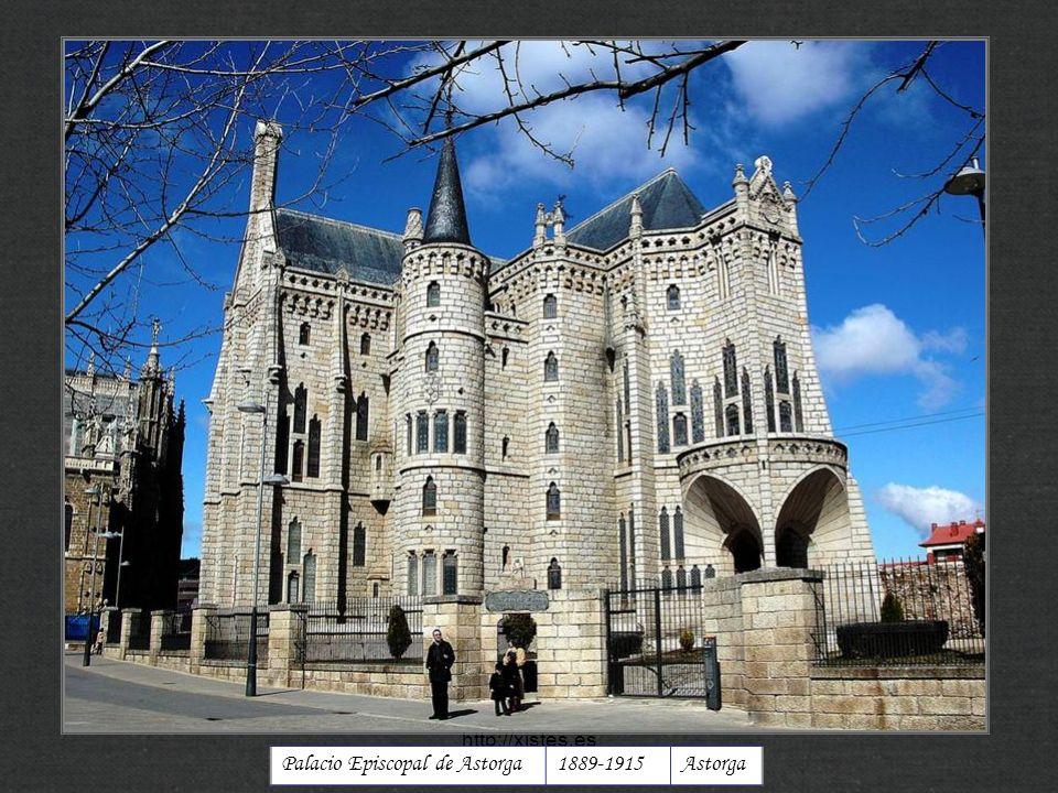 Palacio Episcopal de Astorga1889-1915Astorga