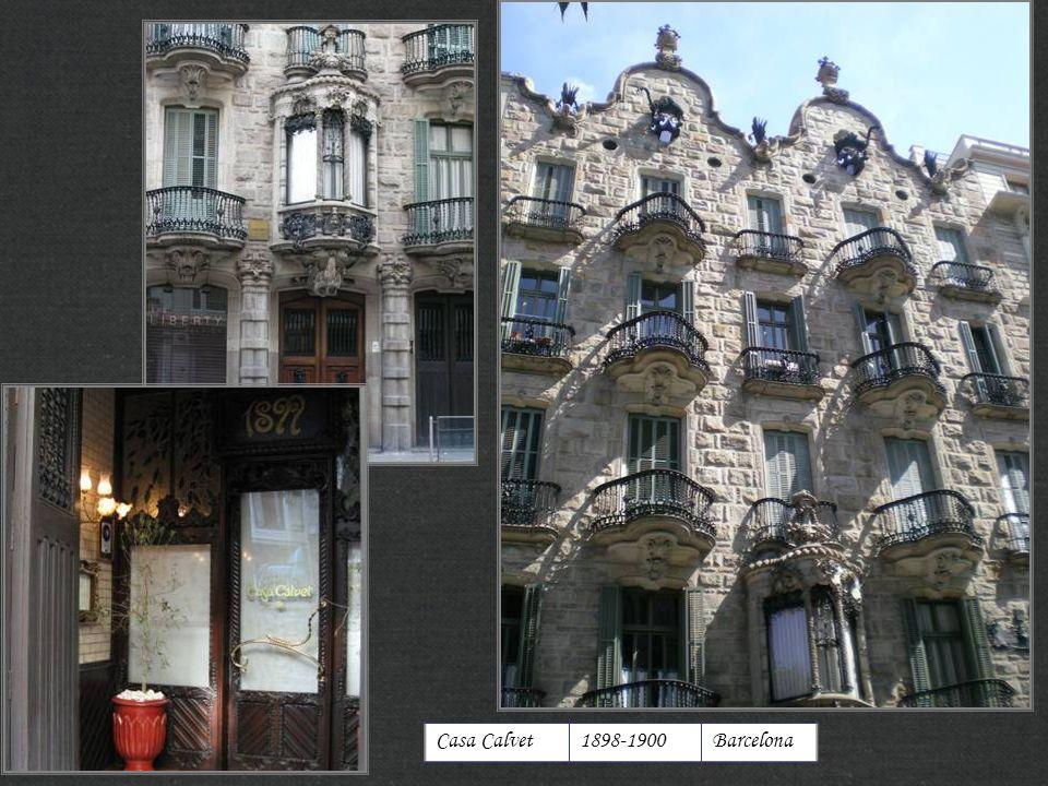Casa Calvet1898-1900Barcelona