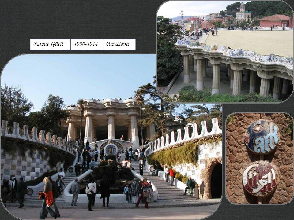 Parque Güell1900-1914Barcelona