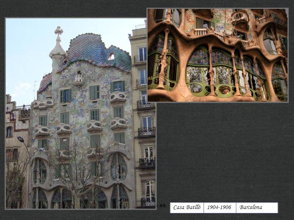 Casa Batlló1904-1906Barcelona