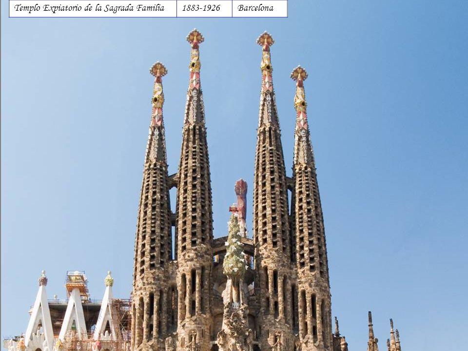 Templo Expiatorio de la Sagrada Familia1883-1926Barcelona