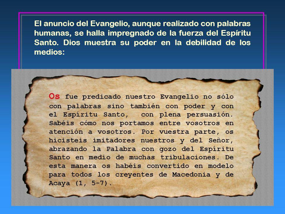 2. La Palabra de Dios El mensaje de esta carta recobra una gran actualidad en este año paulino, en el que la Iglesia celebra el Sínodo de los obispos