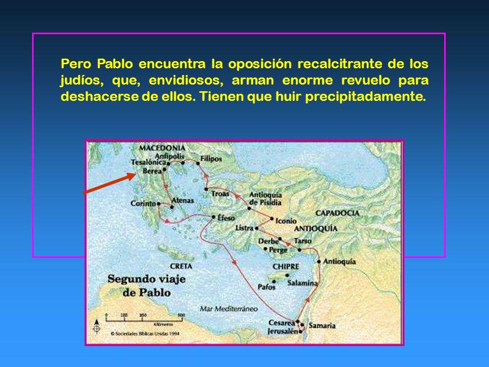 Nacimiento de esta Comunidad A travesando Anfípolis y Apolonia llegaron a Tesalónica, donde los judíos tenían una sinagoga. Pablo, según su costumbre,