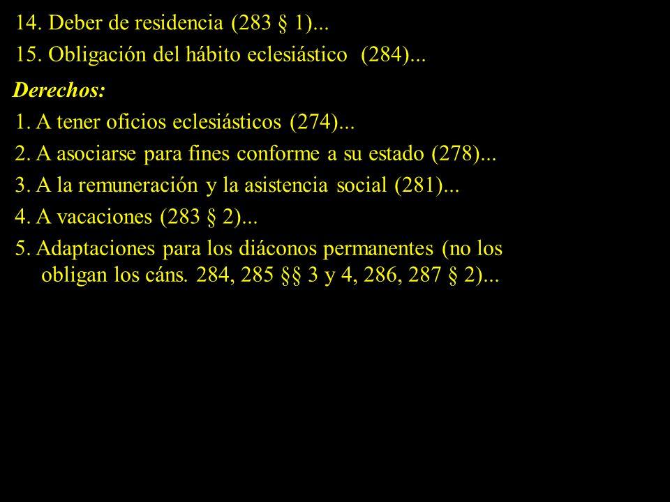 III.- EL ORDEN (cáns.1008 a 1054) Catecismo de la Iglesia Católica, ns.