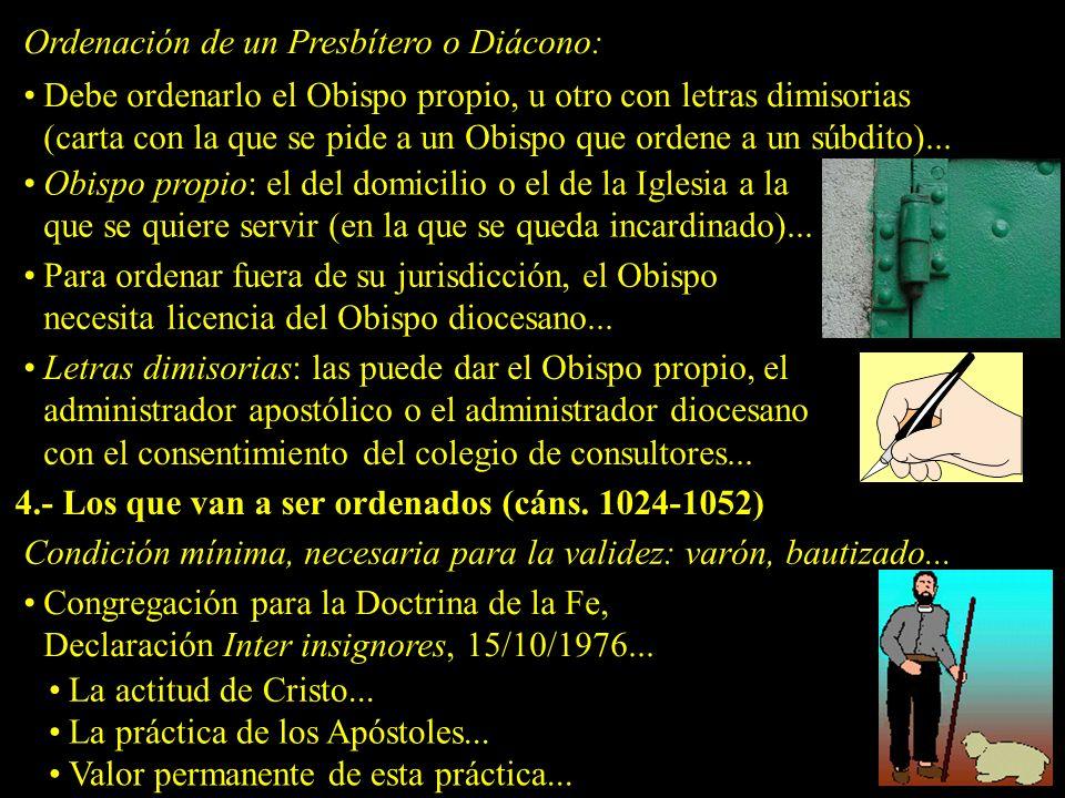 Juan Pablo II, Carta Apostólica Ordinatio sacerdotalis, 22/05/1994: La Iglesia no tiene de modo alguno la facultad de conferir la ordenación sacerdotal a las mujeres, y esto es un dictamen definitivo...