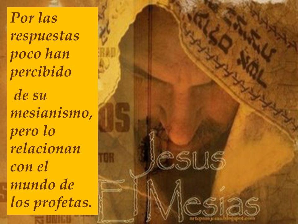 27 Jesús salió con sus discípulos hacia las aldeas de Cesarea de Filipo y por el camino les preguntó: ¿Quién dice la gente que soy yo? Y vosotros ¿Qui