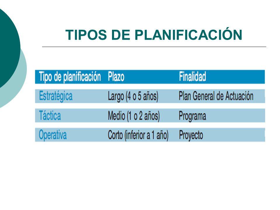 PlanProgramaProyecto FASES DE PLANIFICACIÓN