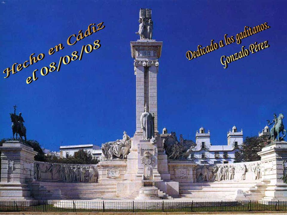Monumentos relacionados con la Costitución: Pincha abajo en el enlace: http://www.cadiz2012.es/monumentos.es Palacio de la Aduana, actual Diputación: