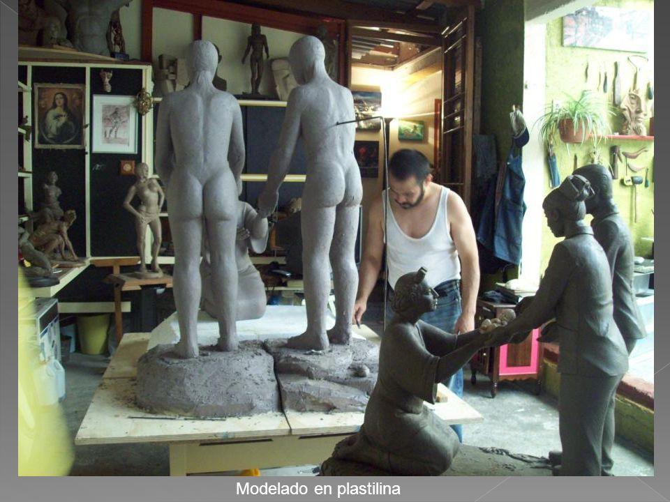 Modelado en plastilina