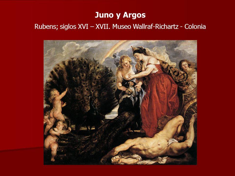 Juno y Argos Rubens; siglos XVI – XVII. Museo Wallraf-Richartz - Colonia