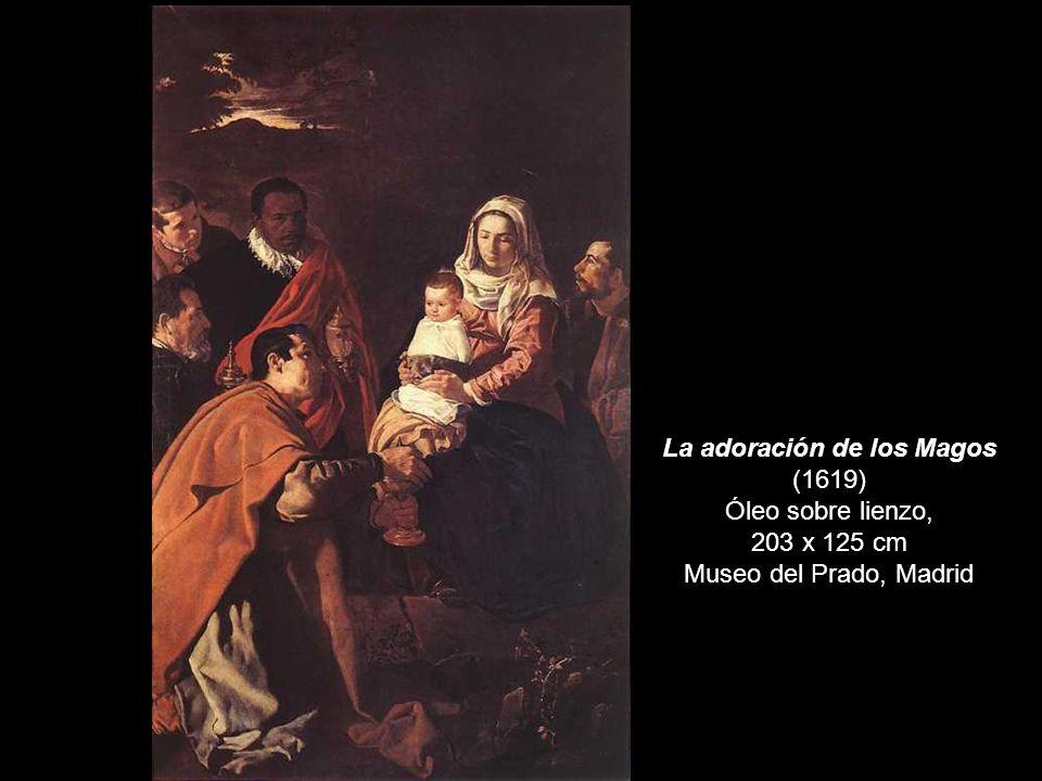 Cristo en casa de Marta y María Óleo sobre lienzo. 1620 60 x 103,5 cm National Gallery, London