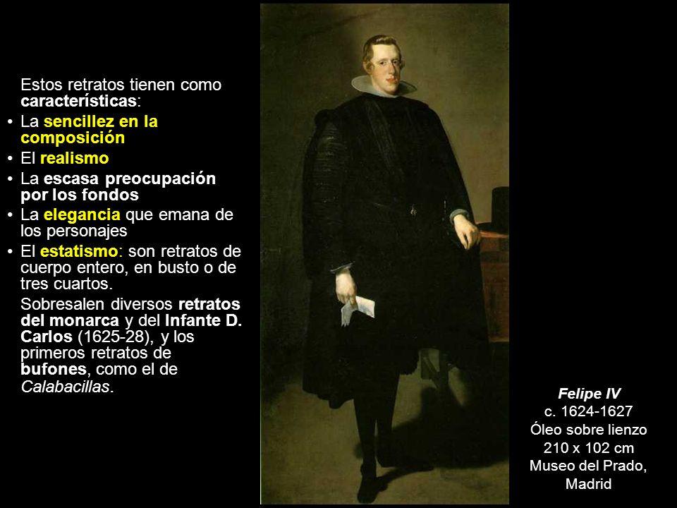 Este periodo puede subdividirse, a su vez, en tres, coincidiendo los hitos con sus viajes a Italia. Pintor del Rey ETAPA DE MADUREZ (1623-1660) 1623-1