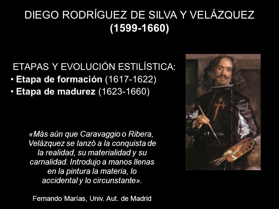 Velázquez, el más grande. Calidades hiperrealistas. Pintura alla prima Pincelada suelta y vibrante Color espléndido Óleo de Empastes generosos Expresi