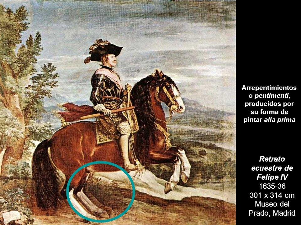 La reina Isabel de Borbón a caballo 1634-1635 301 x 314 cm Museo del Prado, Madrid