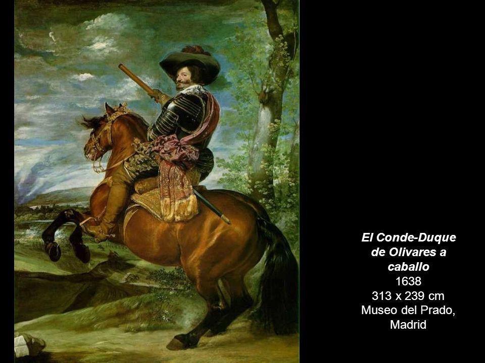 Príncipe Baltasar Carlos a caballo 1635-36 209 x 173 cm Museo del Prado, Madrid
