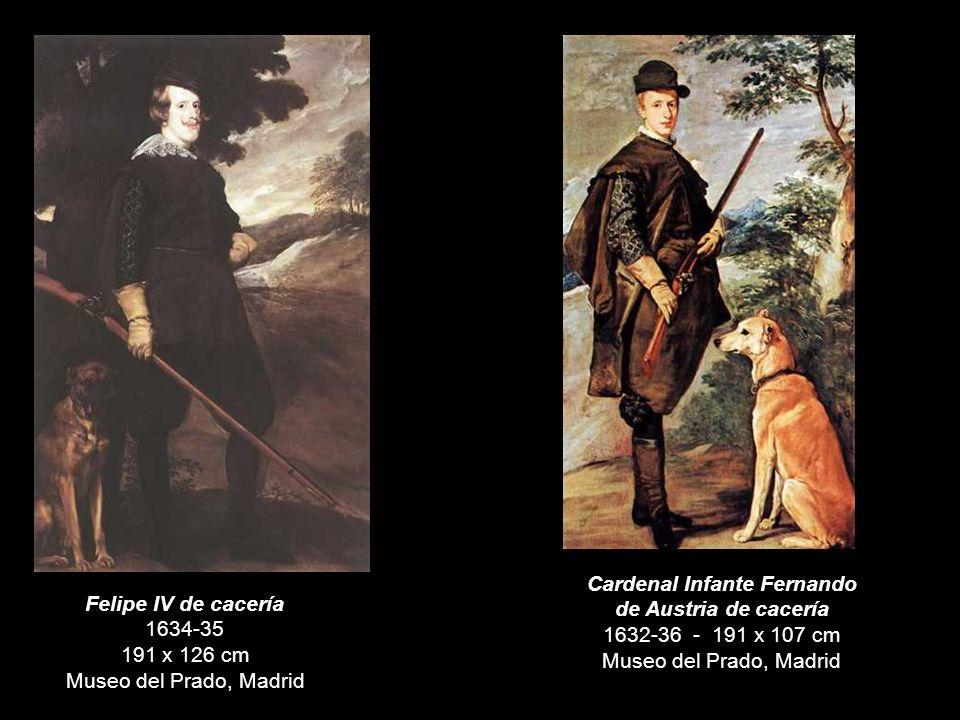 El Conde-Duque de Olivares a caballo 1638 313 x 239 cm Museo del Prado, Madrid