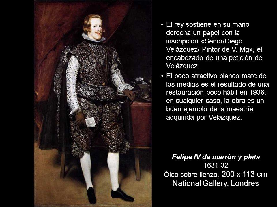 Príncipe Baltasar Carlos de caza 1635-36 191 x 103 cm Museo del Prado, Madrid