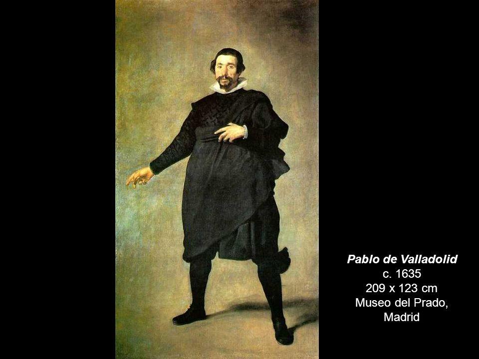 El enano Don Juan Calabazas, apodado Calabacillas c. 1639 106 x 83 cm Museo del Prado, Madrid