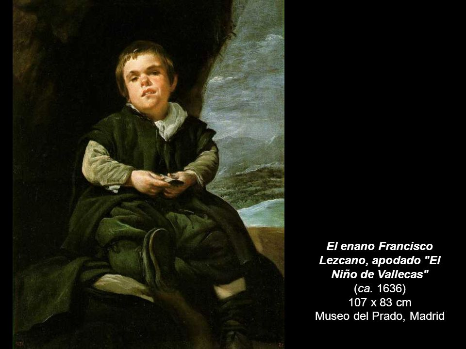 Pablo de Valladolid c. 1635 209 x 123 cm Museo del Prado, Madrid