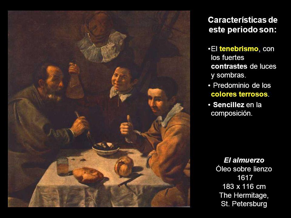 Etapa de formación (1617-1622) A los 18 años consiguió licencia para pintar. De sus maestros tomó los principios manieristas y academicistas, además d