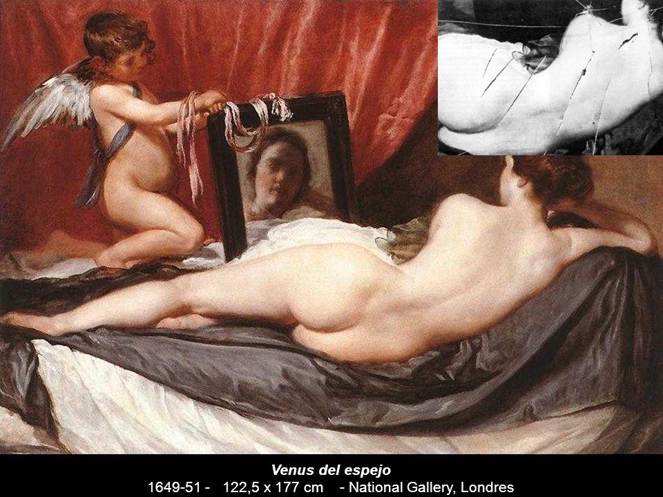 «La Venus del espejo, que nos da la espalda y nos mira borrosa desde el espejo, es quizás la pintura más genuinamente barroca de Velázquez (...) ya qu