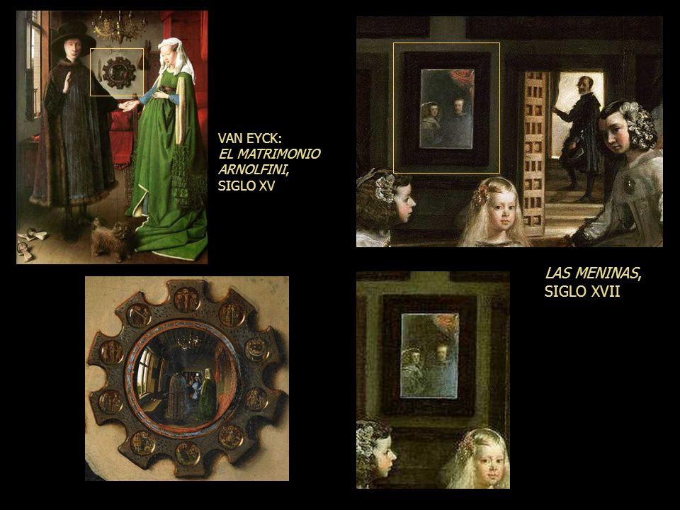 Crea un espacio ilusorio delante del cuadro Prolonga el espacio en profundidad más allá del muro del fondo de la sala