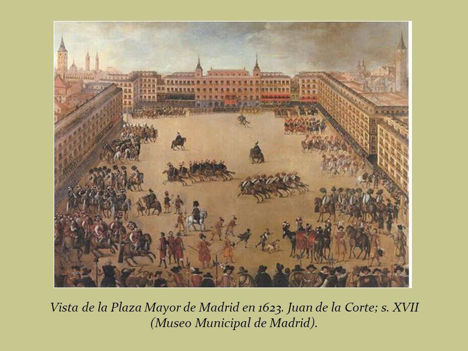 Auto de Fe en la Plaza Mayor. Francisco de Ricci; 1683 (Museo del Prado)