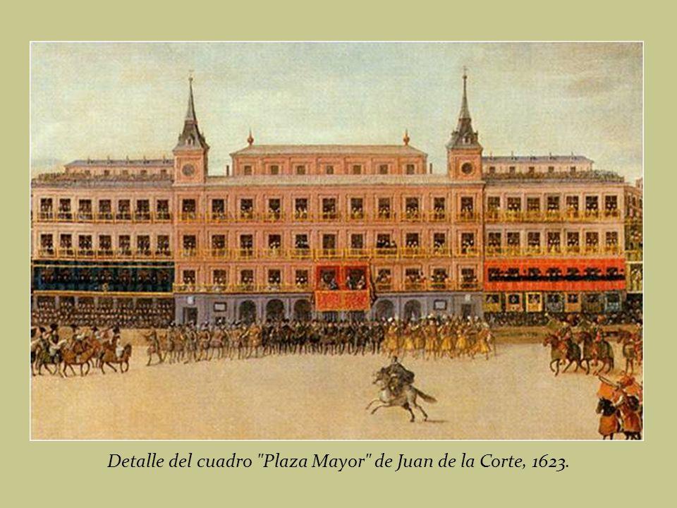 Juego de Cañas en la Plaza Mayor. Juan de la Corte; s. XVII (Museo Municipal de Madrid)