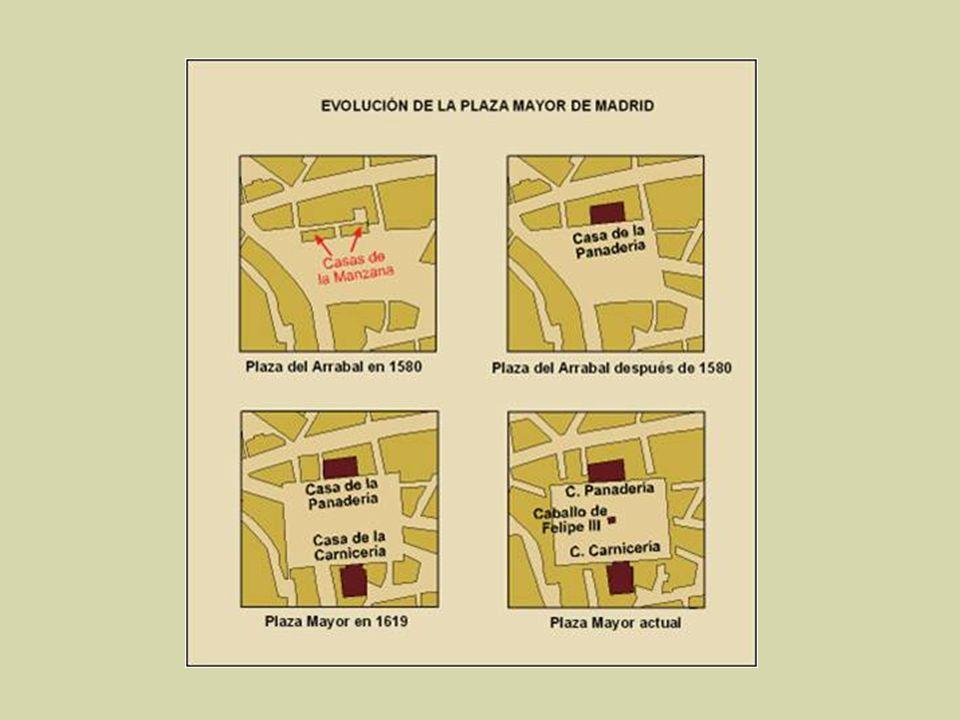 Los orígenes de la plaza se remontan al Siglo XV, cuando en la confluencia de los caminos (hoy en día calles) de Toledo y Atocha, a las afueras de la