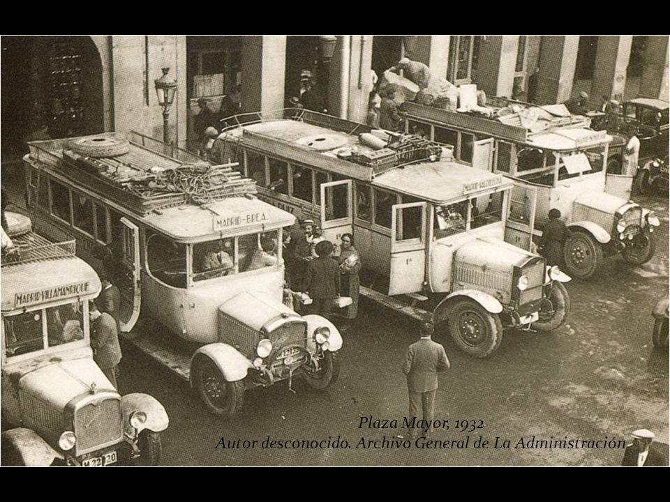 Plaza Mayor, 1932 Autor desconocido. Archivo de Ediciones La Librería