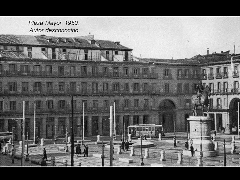 Plaza Mayor, 1943 Autor desconocido. Archivo General de La Administración