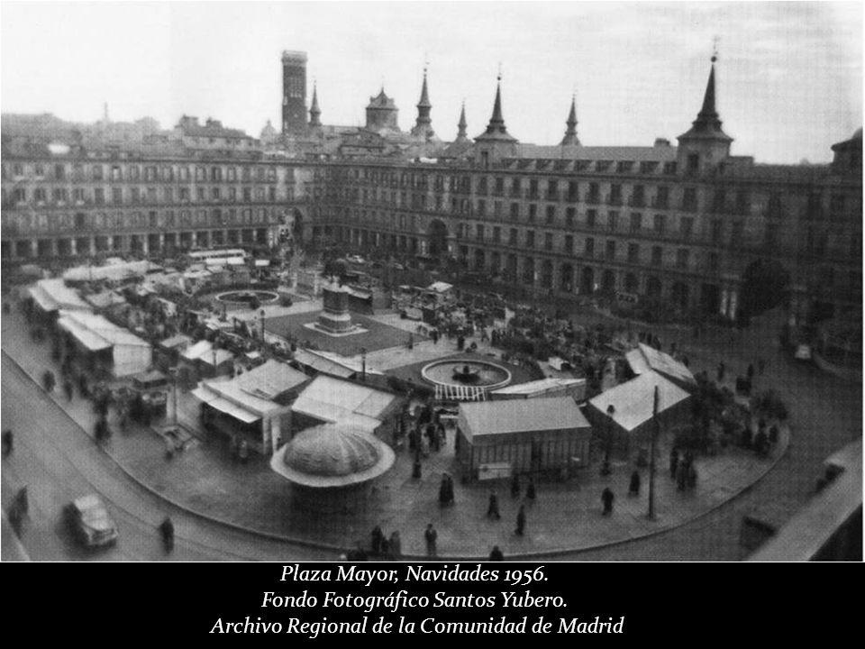 Plaza Mayor, Mayo de 1955 Cas Oorthuys. Museo de la Fotografía de los Países Bajos. (Nederlands Fotomuseum) Rótterdam