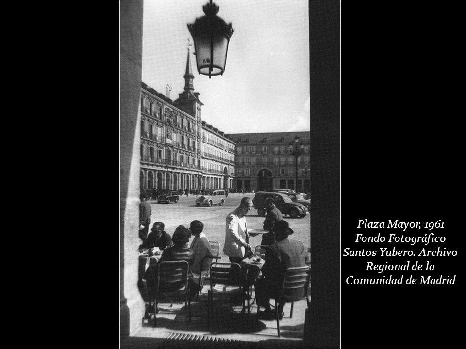 Plaza Mayor, 1961 Archivo general de la Administración