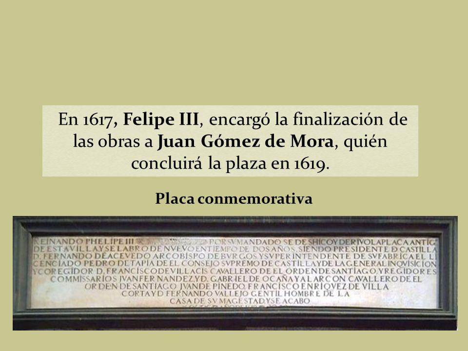 En 1580, tras haber trasladado la corte a Madrid en 1561, Felipe II encargó el proyecto de remodelación de la plaza a Juan de Herrera, comenzándose el