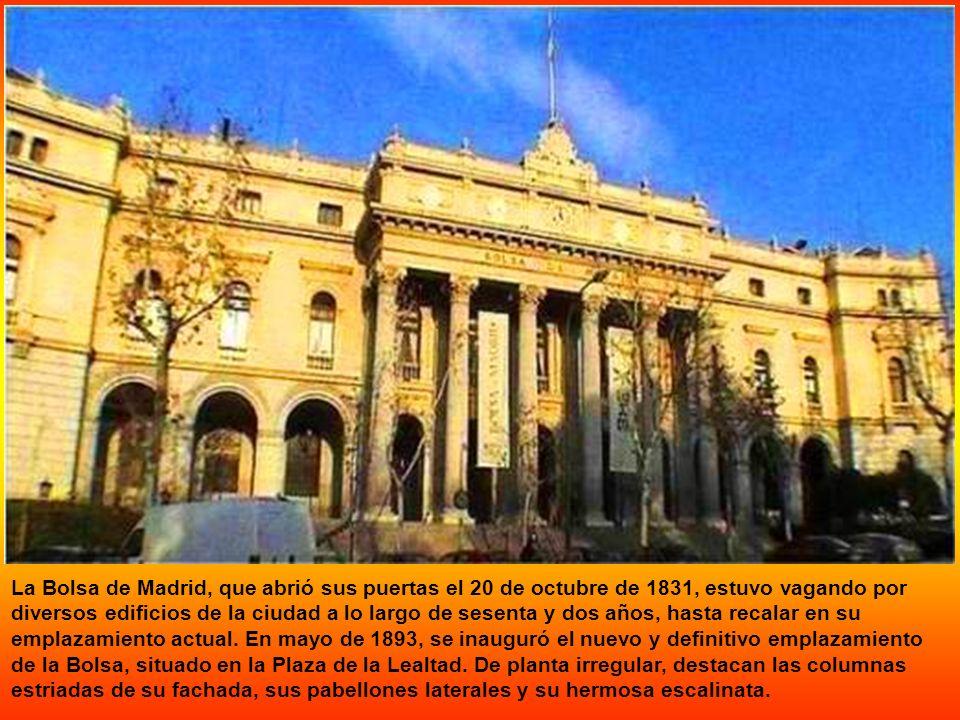 El edificio actual fue construido por el arquitecto Joaquín de la Concha entre 1884 y 1886, por encargo del Ministro de Gracia y Justicia Manuel Silve
