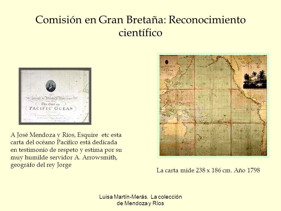 Luisa Martín-Merás.La colección de Mendoza y Ríos Atlas italianos Geographia de Magini.