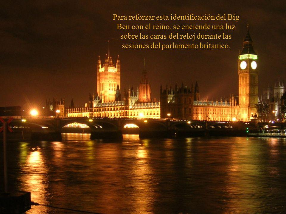 Los ingleses tiene una especial devoción por su sonido que simbólicamente representa el horario del reino, y se transmite a diario por la radio BBC.