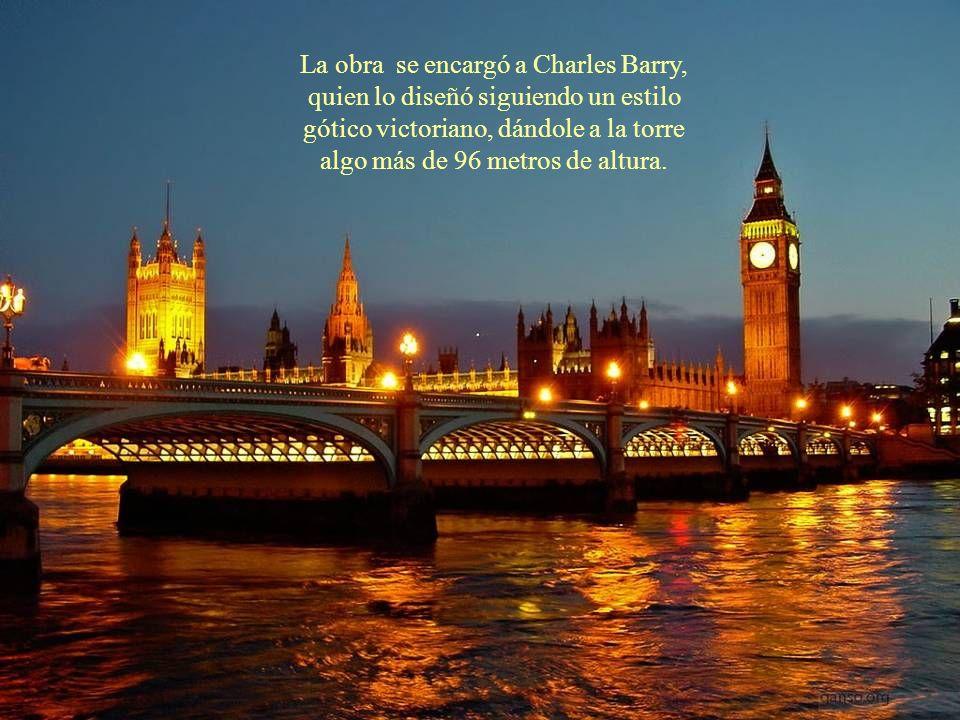 La historia del Big Ben se puede decir que empieza en 1834 con el incendio del viejo palacio de Westminster, por lo que éste hubo de ser reconstruido.