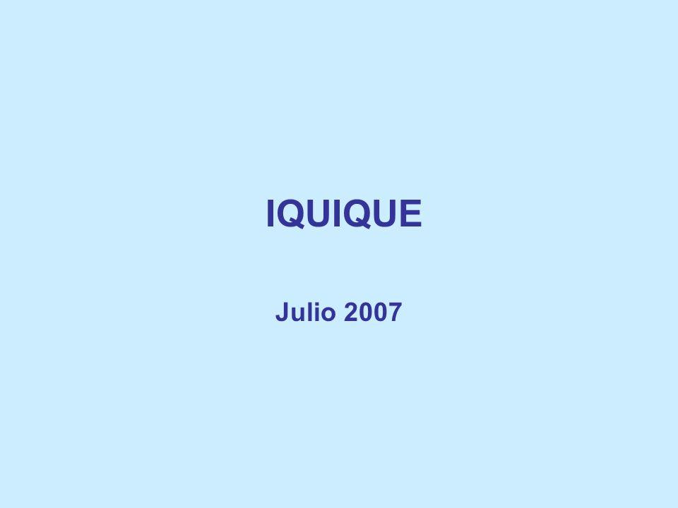IQUIQUE Julio 2007