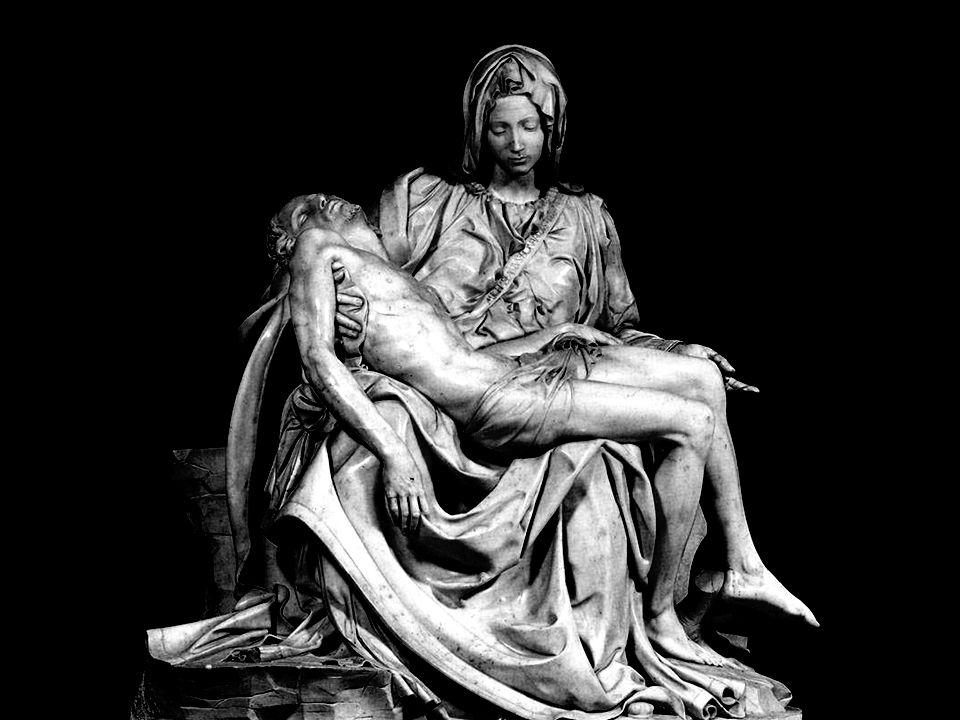 La Piedad fue esculpida entre el año 1498 y 1499, cuando Miguel Ángel tenía veinticuatro años y sus dimensiones son de 174 por 194 cm. Miguel Ángel se